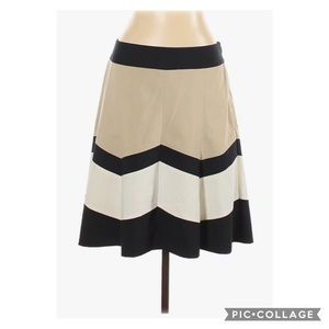 The Limited stripe fit and flare skirt size XS